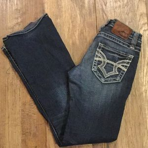 Big Star low rise Casey fit jeans.
